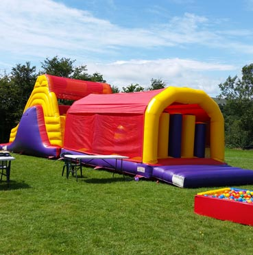Big Obstacle Course for Hire in Bandon